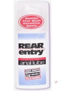Rear Entry Anal Lube 3.4 Oz