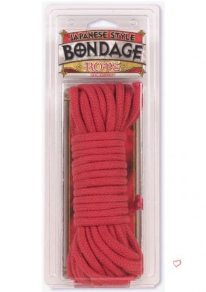 Red Cotton Bondage Rope