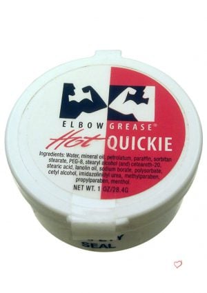 Elbow Grease Quickies Hot 1oz - Cream