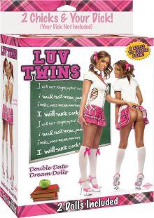 Luv Twins Double Date Inflatable Doll