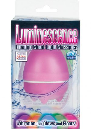 Luminescence Floating Massager Pink