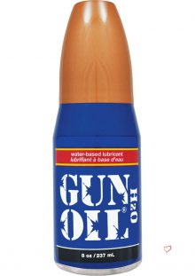 Gun Oil H20 Gel Pump 8 Ounce