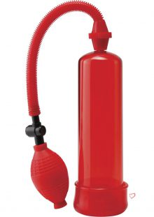 Pump Worx Beginners Power Pump With Cockring Red
