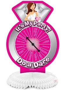 Bride To Be Centerpiece With Party Game