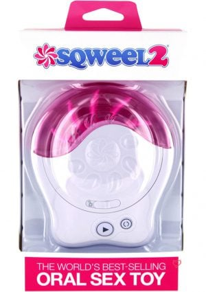 Sqweel 2 Oral Sex Simulator White