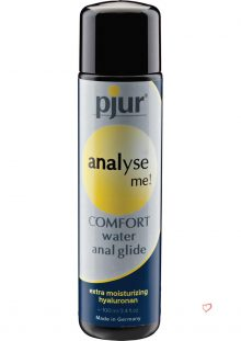 Analyse Me Comfort Water Anal Glide 3.4 Ounce