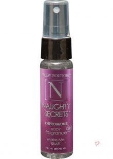 Body Boudoir Naughty Secrets Pheromone Body Fragrance Make Me Blush 1 Ounce