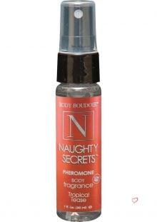 Body Boudoir Naughty Secrets Pheromone Body Fragrance Tropical Tease 1 Ounce