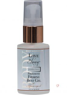 Love In Luxury Perfection Pheromone Firming Bust Gel Moroccan Argan Oil 1 Ounce