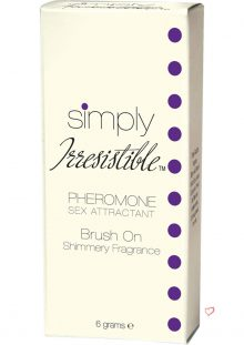 Simply Irresistible Pheromone Sex Attractant Brush On Shimmery Fragrance 6 Grams
