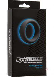 Optimale Silicone C-Ring Slate 40 Millimeter