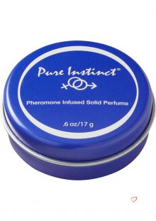 Pure Instinct Pheromone Infused Solid Perfume .6 Ounce Tin Can