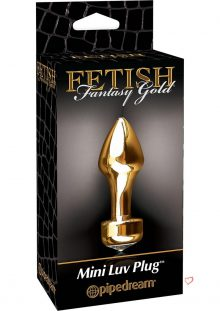Fetish Fantasy Gold Mini Butt Plug