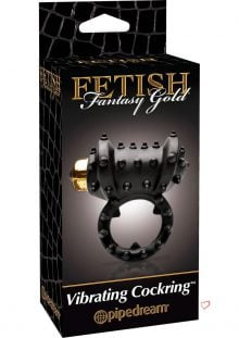 Fetish Fantasy Gold Vibrating Cock Ring