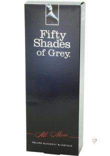 Fifty Shades Of Grey All Mine Deluxe Blackout Blindfold