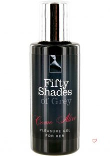 Fifty Shades Of Gray Come Alive Pleasure Gel For Her 1 Ounce