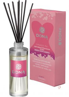 Dona Aphrodisiac and Pheromone Infused Reed Diffusers Flirty Blushing Berry 2 Ounce