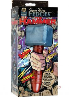 Super Hung Heros The Hammer Silicone Dildo 9 Inch
