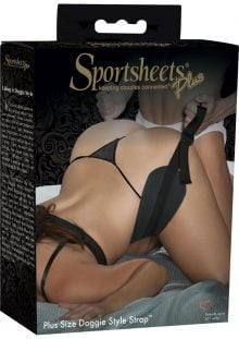 Plus Size Doggie Style Strap Extends To 55 Inches Wide