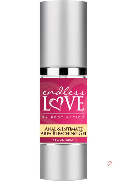 Endless Love Anal and Intimate Area Bleaching Gel 1 Ounce