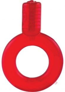 Go Vibe Ring Pop Red