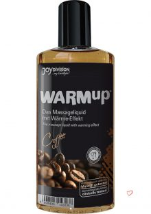 Warm Up Flavored Massage Oil Coffee 5.07 Ounce