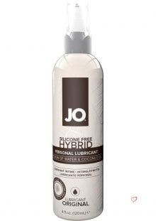 Silicone Free Hybrid Personal Lubricant Water And Coconut Oil 4 Ounce