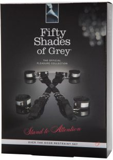 Fifty Shades Of Grey Stand To Attention Over The Door Restraint Set