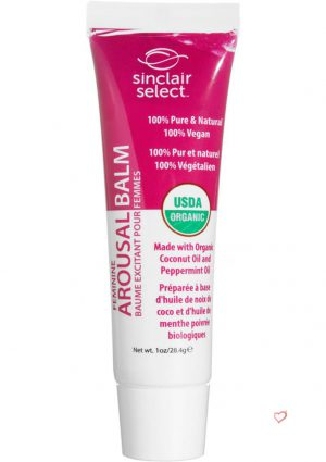 Sinclair Select USDA Organic Feminine Arousal Balm 1 Ounce