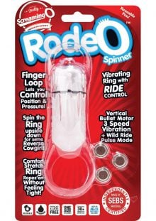 Rodeo Spinner Clear