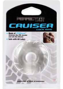 Perfect Fit Cruiser Cock Ring Clear