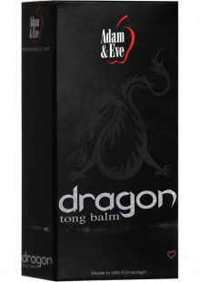 Adam and Eve Dragon Tong Balm Delay Cream .21 Oz