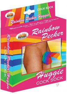 Rainbow Huggie Mens Cock Sock