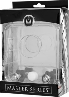 Master Series Cock And Ball Crusher clear