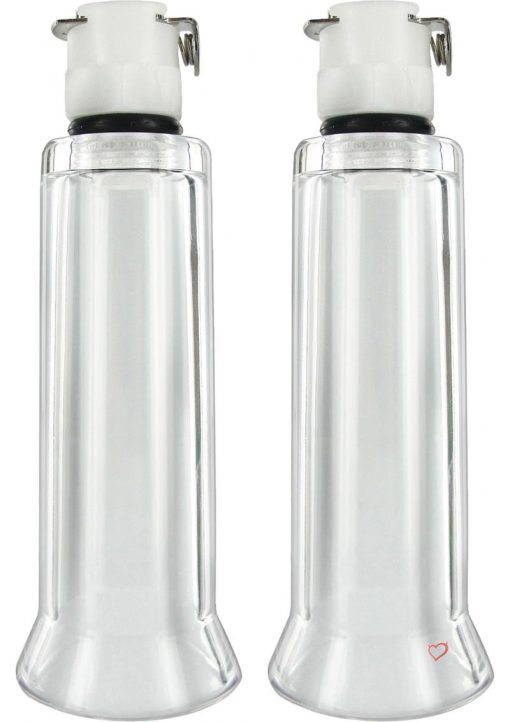 Size Matters 2 Nipple Cylinders Clear Small