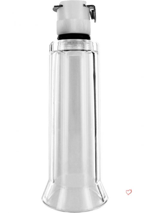 Size Matters Clitoral Cylinder Clear Medium