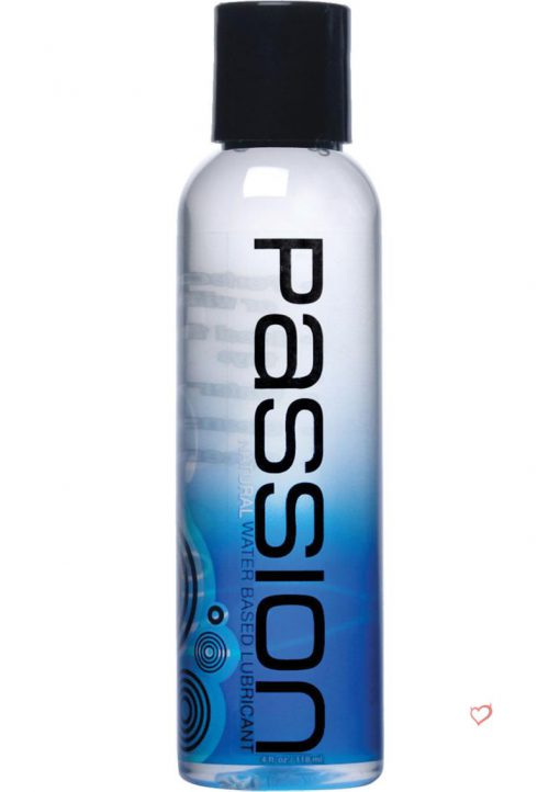 Passion Natural Water Based Lubricant 4 Ounce