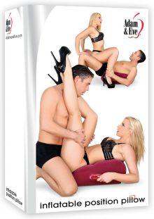 Adam And Eve Inflatable Position Pillow Red