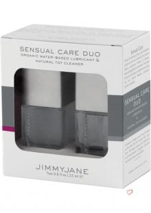 JimmyJane Sensual Care Duo Lube and Toy Cleaner .8 Oz