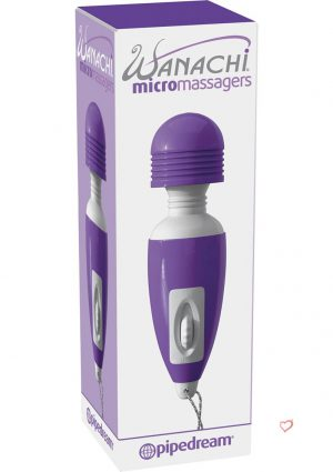 Wanachi Micro Massager Purple 2.5 Inch