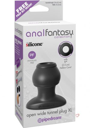 Anal Fantasy Collection Open Wide Tunnel Plug Xl