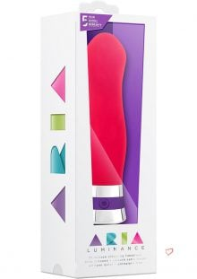 Aria Luminance Silicone Vibe Waterproof Pink