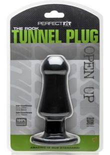 Perfect Fit The Rook Tunnal Plug Black