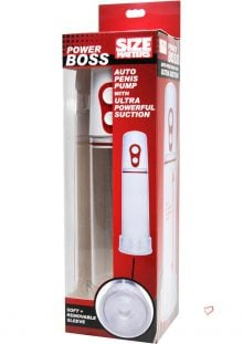 Power Boxx Auto Penis Pump with Ultra Power