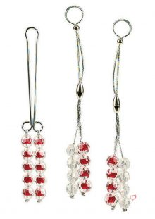 Nipple and Clitoral Ruby Body Jewelry