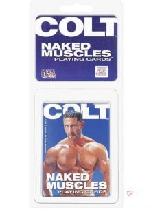 Colt Naked Muscles Cards - Bulk