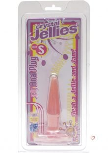 Butt Plug Pink Jelly Small