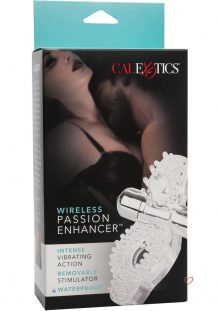 Wireless Passion Enhancer Cockring Silicone Clear