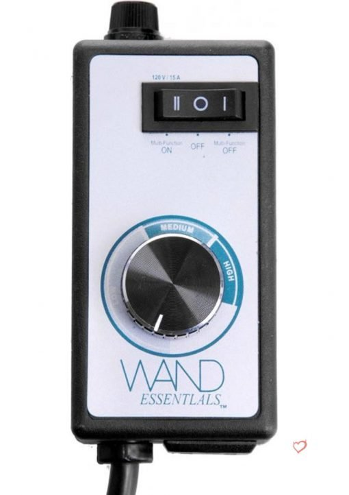 Wand Essentials Desire Dial Variable Speed Controller