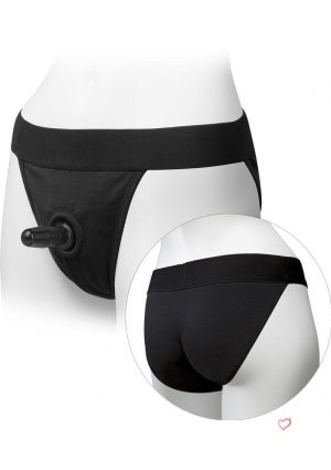 Platinum Edition Vac U Lock Ultra Harness With Plug Full Back Black Large/X-Large 45 to 56 Inch Hips
